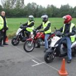 ADT Rider Training bikes