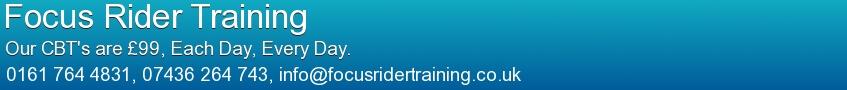 Focus Rider Training Banner