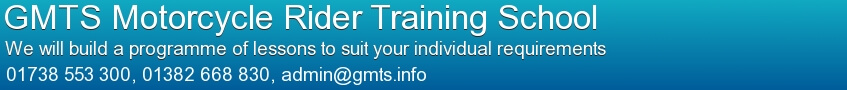 GMTS Motorcycle Rider Training School Banner