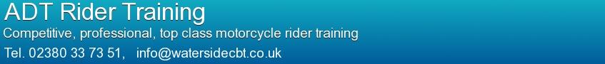 ADT Rider Training Banner