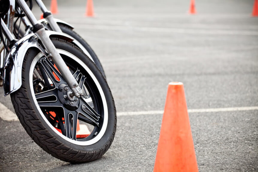 motorcycle test track
