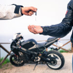 exchanging keys to motorcycle