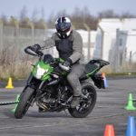 slow motorcycle riding training