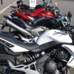Fleet of motorbikes