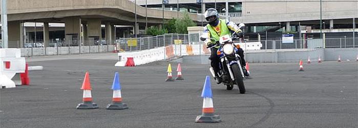 Motorcycle training site - PRT