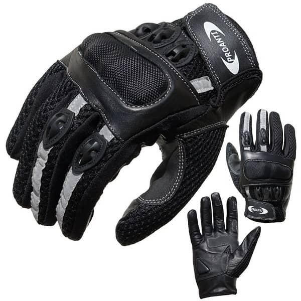 proanti motorbike gloves - summer