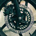 front disc brake motorbike