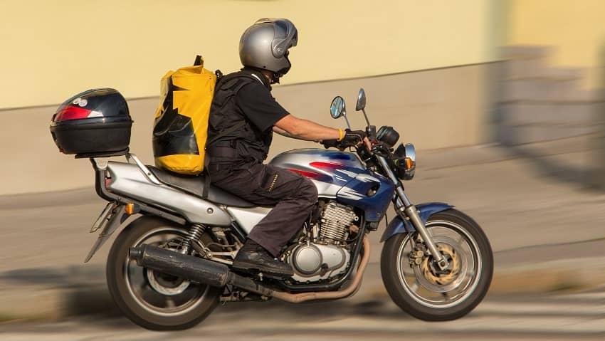 motorbike top box