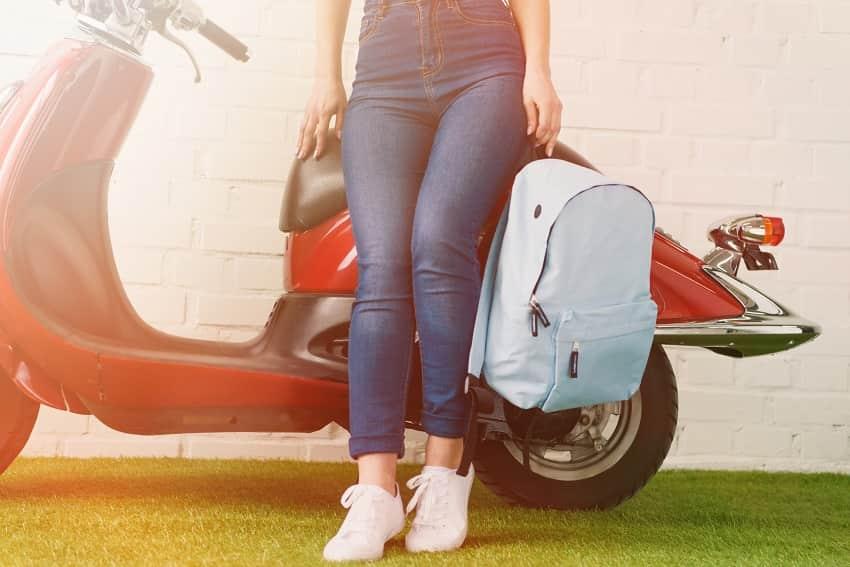 motorbike rucksack