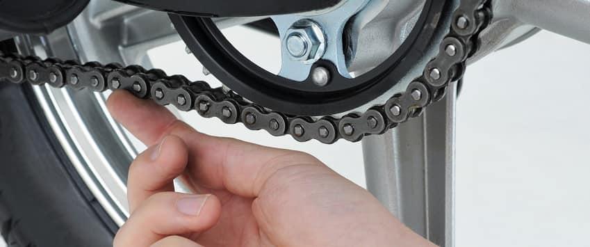 motorbike chain testing