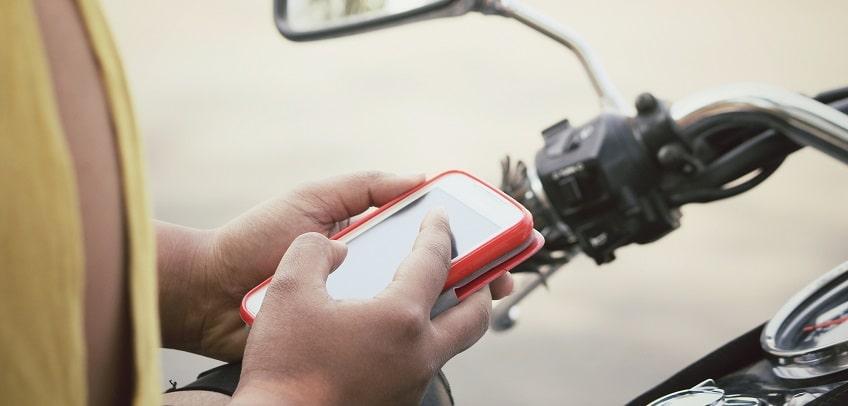 motorbike phone mount