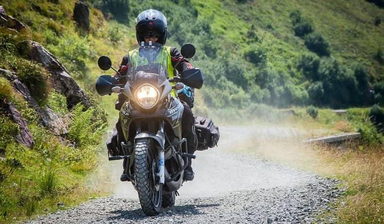 Adventure type motorcycle