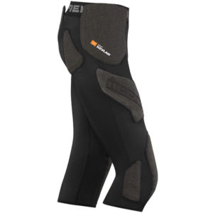 Pantalones de compresión de campo de icono vista lateral